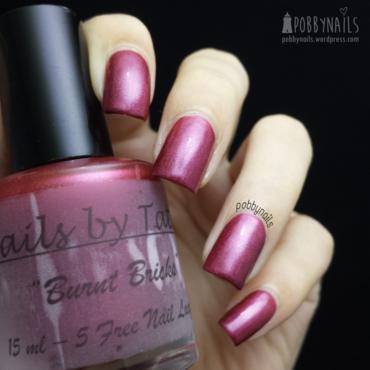 Nails By Tataw Burnt Bricks Swatch by Priscilla  Lim