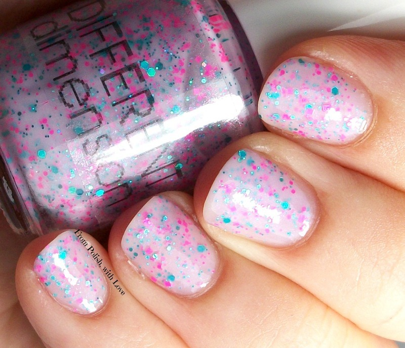 Different Dimension Keep Urchin Up Swatch by Dani