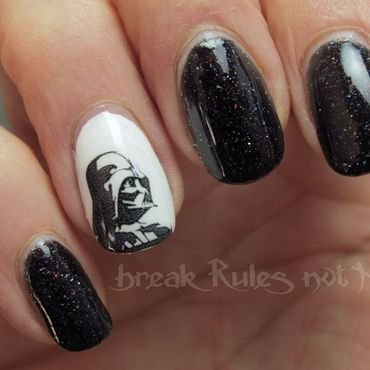 May the 4th... nail art by Michelle
