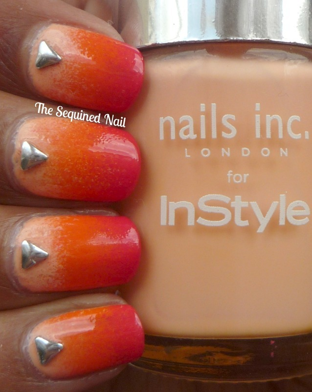Gradient Nails nail art by TheSequinedNail