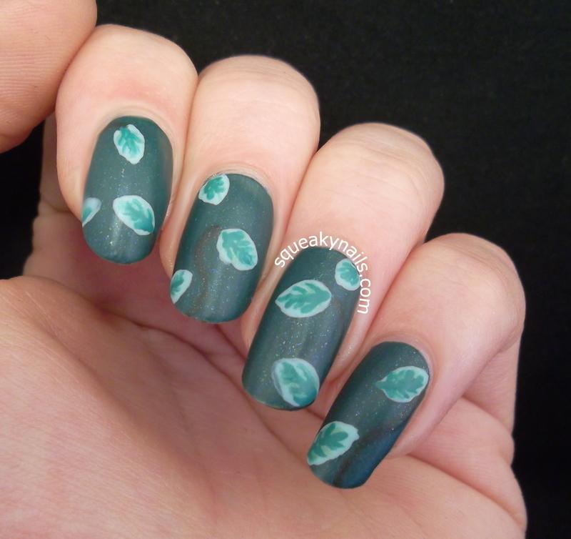 Mint Nails nail art by Squeaky  Nails