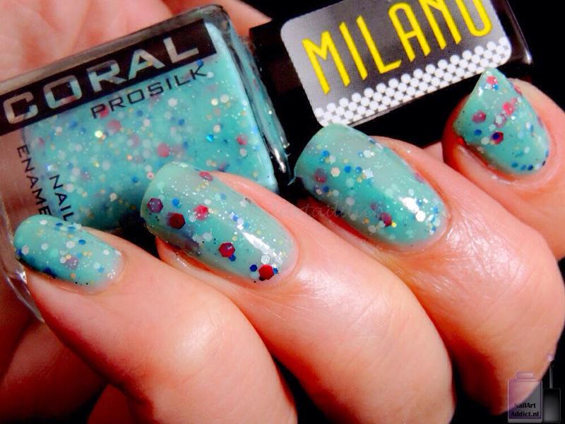 Delia Cosmetics Coral Italian Miracle Swatch by Viv - Nailpolis ...