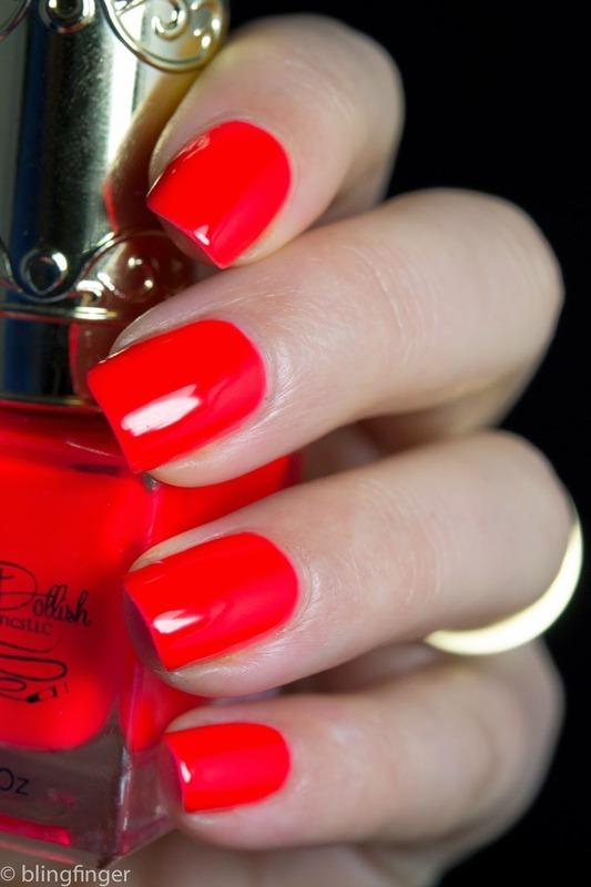 O So Dollish - Hott Date nail art by  Petra  - Blingfinger