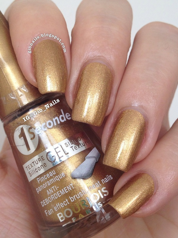 Bourjois Or Hi-Tech Swatch by Giovanna - GioNails