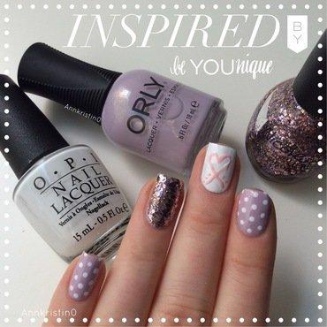 Orly Hope nail art by Ann-Kristin