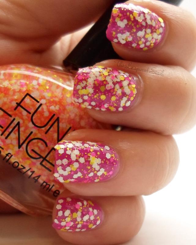 Funky Fingers Glitter Matters Swatch by Emma N.