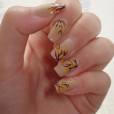 Flower Bed nail art by Nadas_Nails