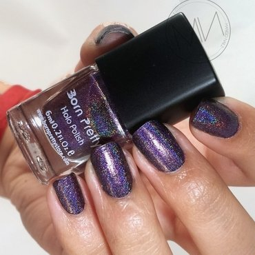 Born Pretty Holographic Effect 11# Swatch by Mango Nailz