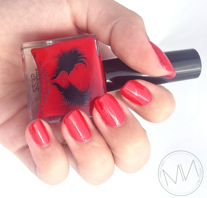 Lacc (La Couleur Couture) 1945 Swatch by Mango Nailz