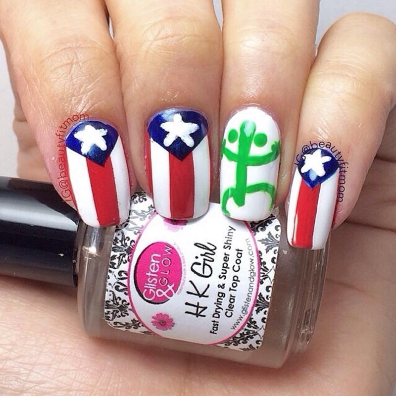 Puerto Rico Nails Nail Art By Beautyfitmom Nailpolis Museum Of
