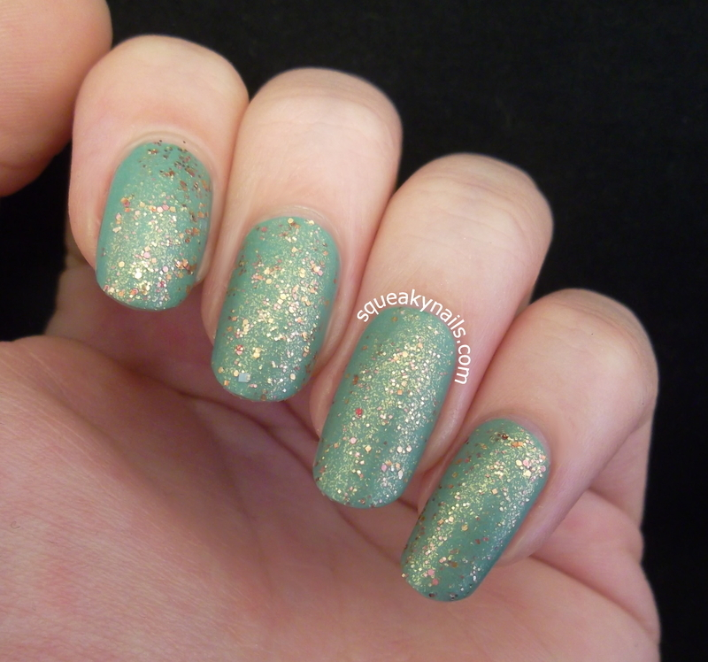 Renaissance Cosmetics Gilded Pleasure Swatch by Squeaky  Nails