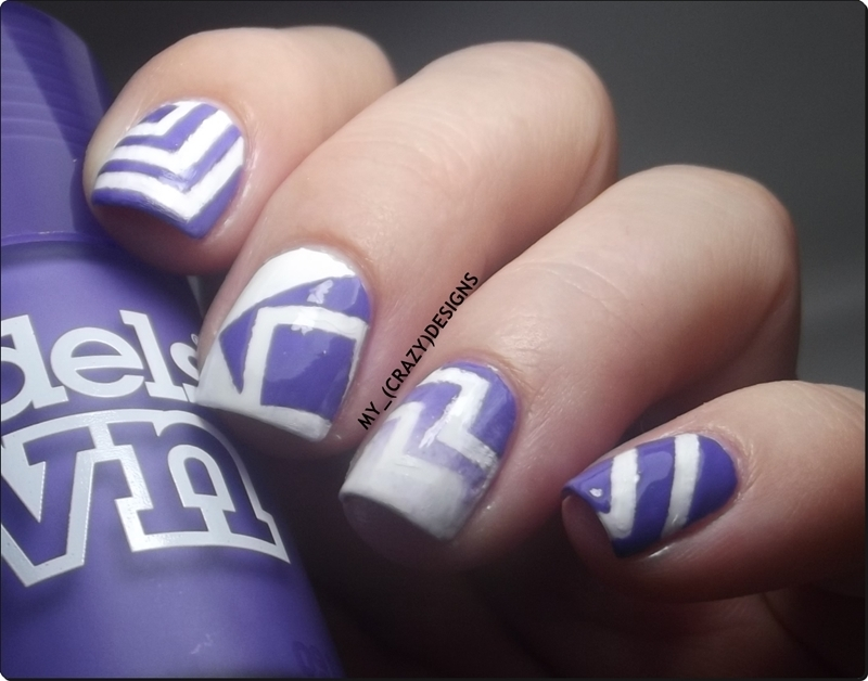 Nail Stencils I nail art by Mycrazydesigns