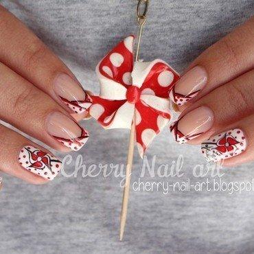 Nail art moulin a vent nail art by Cherry Nail art