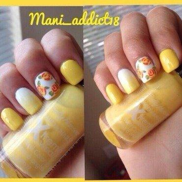Yellow Mellow nail art by S.M.R