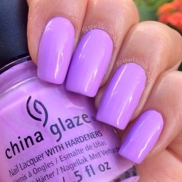 "China Glaze Lotus Begin Swatch by Amanda ""Sparklicious Nails"""