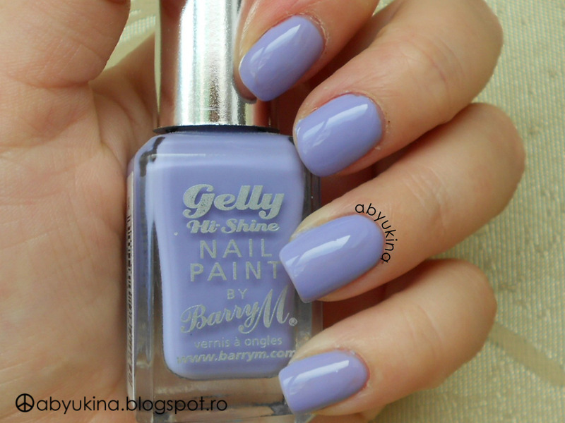 Barry M Gelly Hi-Shine Prickly Pear Swatch by Aby