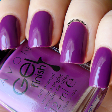 Avon Purplicious Swatch by Ewlyn