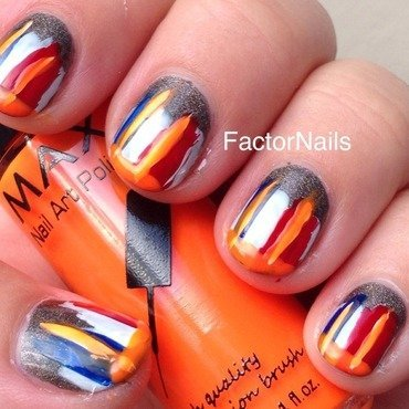 World cup nail art by Factornails