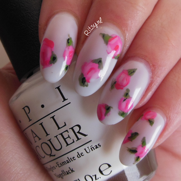 Flowers  nail art by Ritsy NL