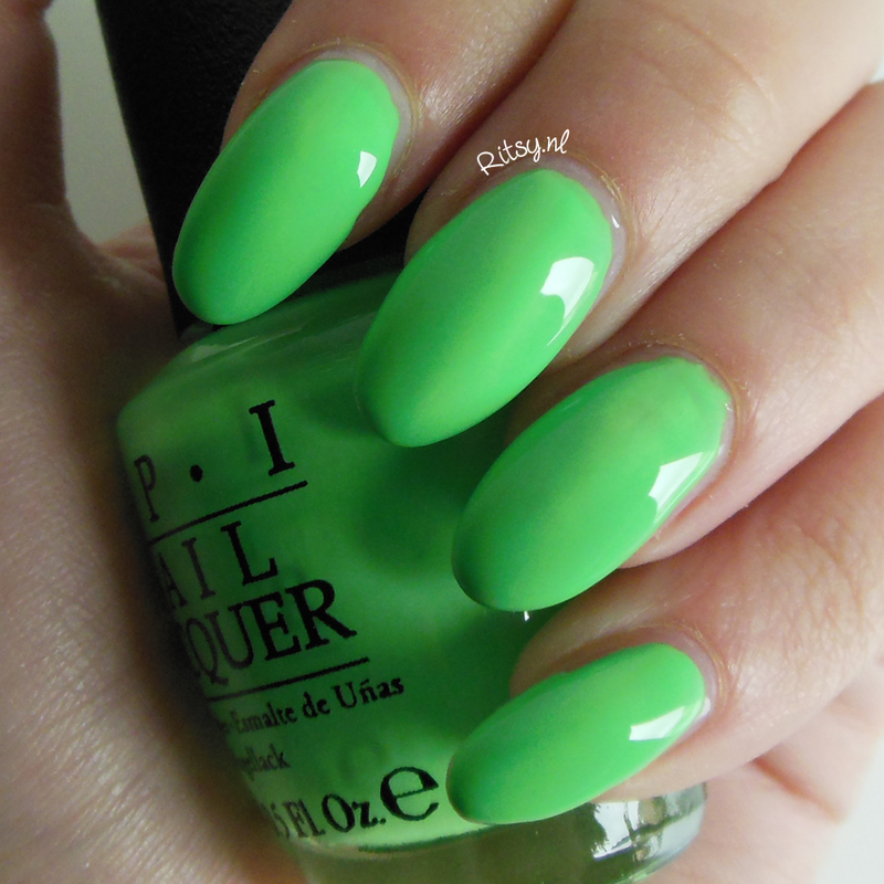 OPI You're So Outta Lime Swatch by Ritsy NL