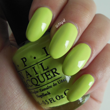 OPI Life Gave Me Lemons Swatch by Ritsy NL