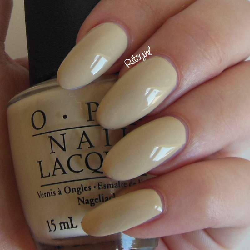OPI You're So Vain-illa Swatch by Ritsy NL