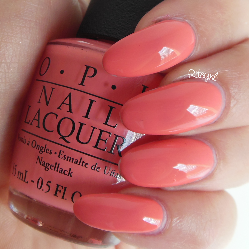 OPI Sorry I'm Fizzy Today Swatch by Ritsy NL