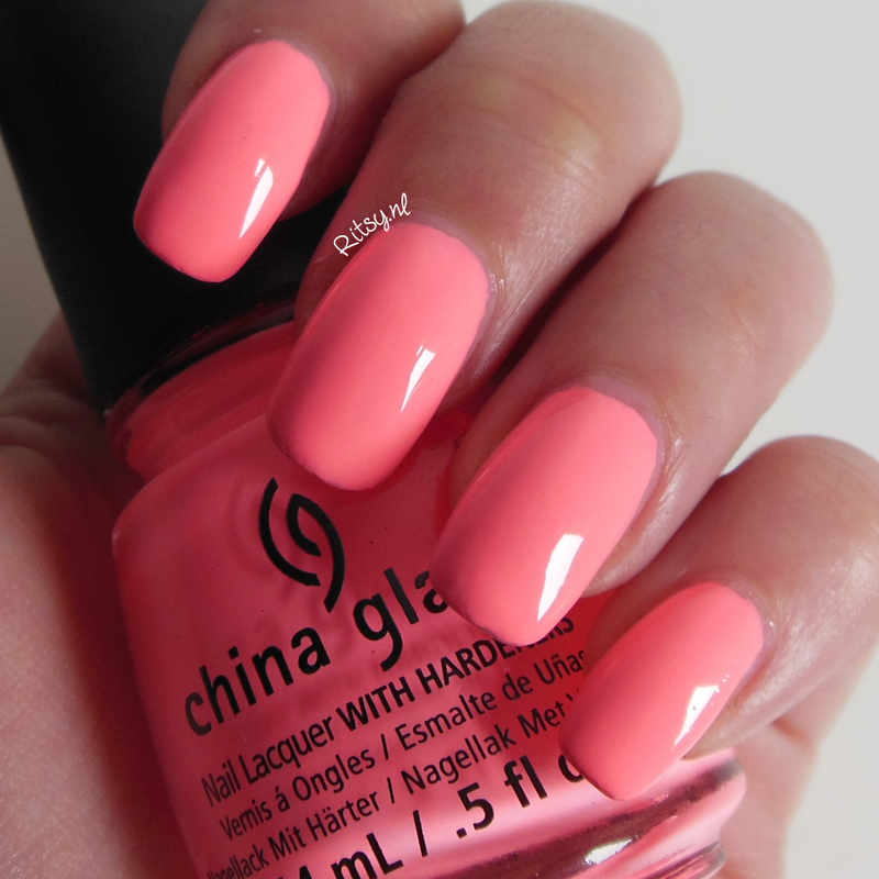 China Glaze Neon & On & On Swatch by Ritsy NL