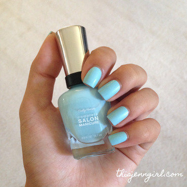 Sally Hansen Complete Salon Manicure Barracuda Swatch by Jenn Thai