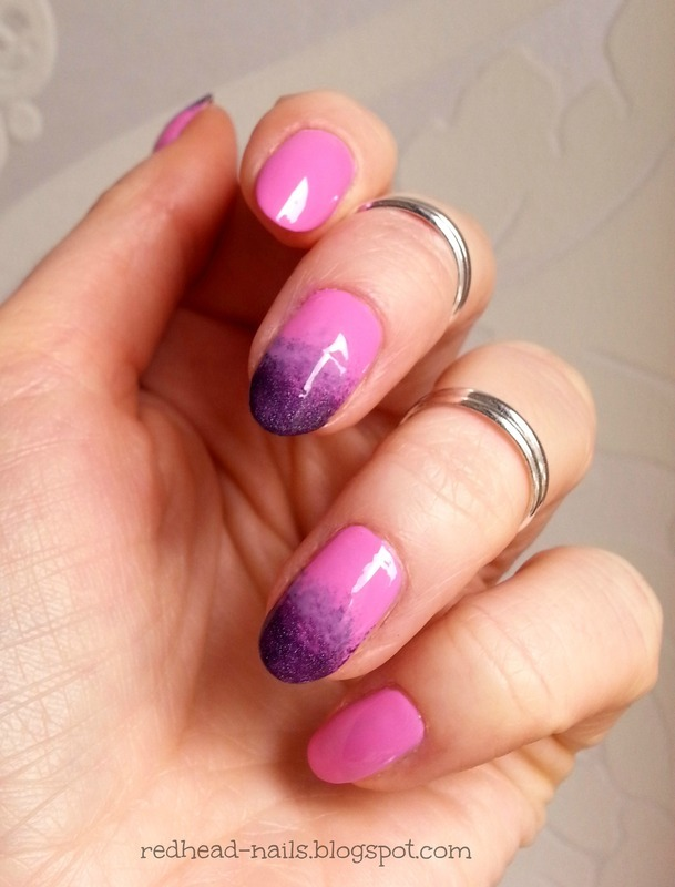 Chilly rose nail art by Redhead Nails