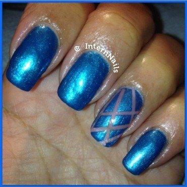 Blue My Life  nail art by Milpa  InternNails
