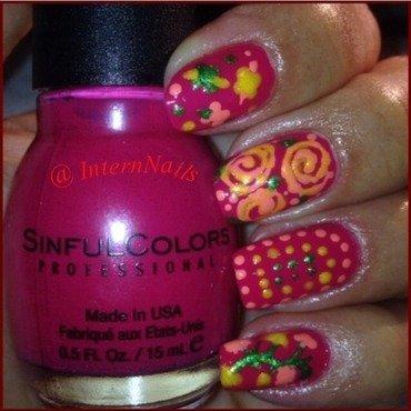 Lollipop Nails  nail art by Milpa  InternNails