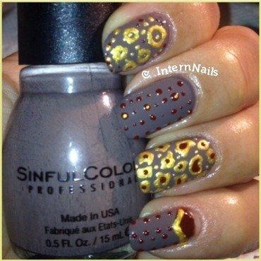Gold Me Nirvana  nail art by Milpa  InternNails
