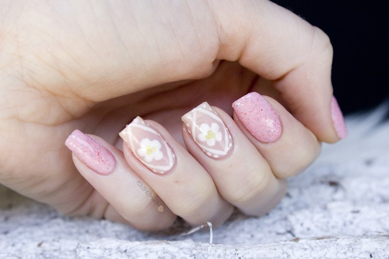 Spring Pattern nail art by Jen from polished-with-love