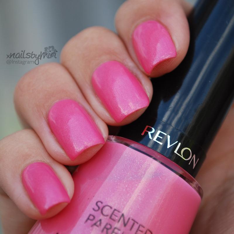 Revlon Sublime Strawberry Swatch by xNailsByMiri