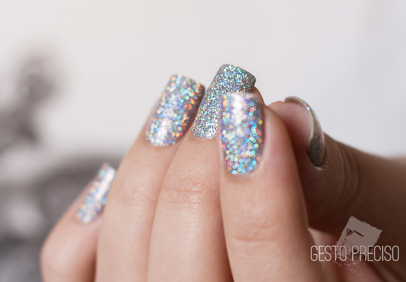 F.U.N Lacquer 24 Karat Diamond Swatch by Gi Milanetto