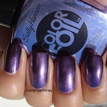Sally Hansen Purple Alloy Swatch by IntensePolishTherapy Anita