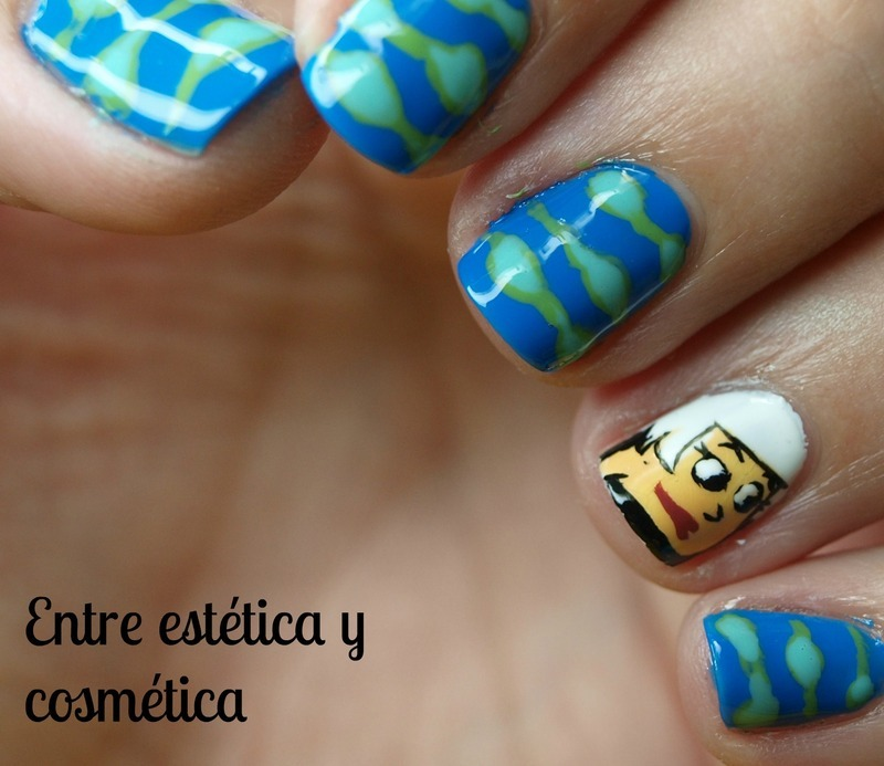 The Jetsons - Judy nail art by MartaRuso