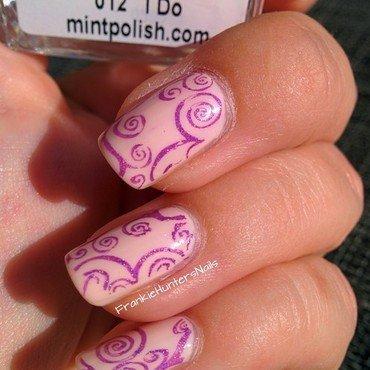 Stampingnailart mint smitten polish thumb370f