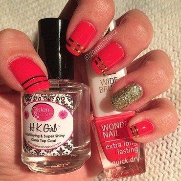 Sue-Ellen nail art by Sanna
