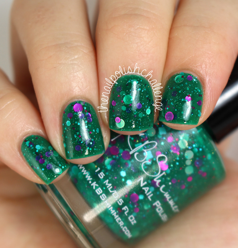 KBShimmer Sea You Around Swatch by Kelli Dobrin