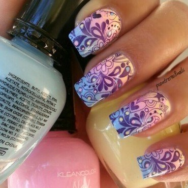 Whimsical Nails nail art by pcontreras8nails