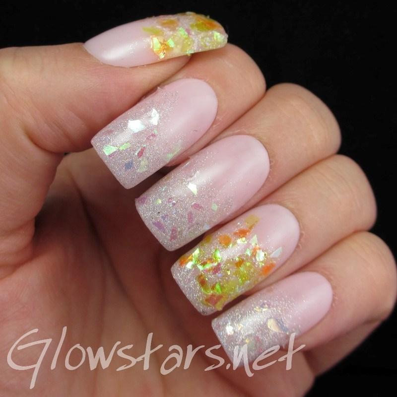 Sifting through mishaps and photographs nail art by Vic 'Glowstars' Pires