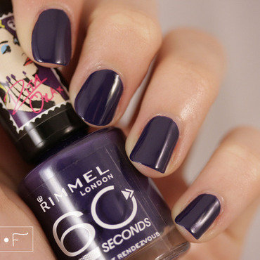 Rimmel London Midnight Rendezvous Swatch by NerdyFleurty