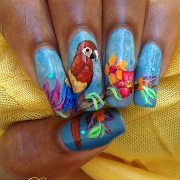 Life in color nail art by Dess_sure