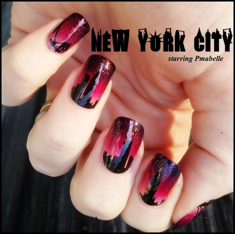 New York City nail art by Pmabelle - Nailpolis: Museum of Nail Art