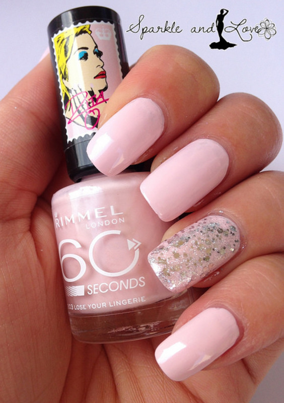 Perfect pink nails by Sparkle  And Love