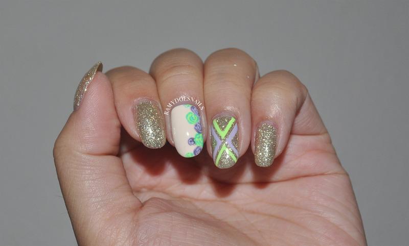 Zoya Tomoko! nail art by Ramy Ang