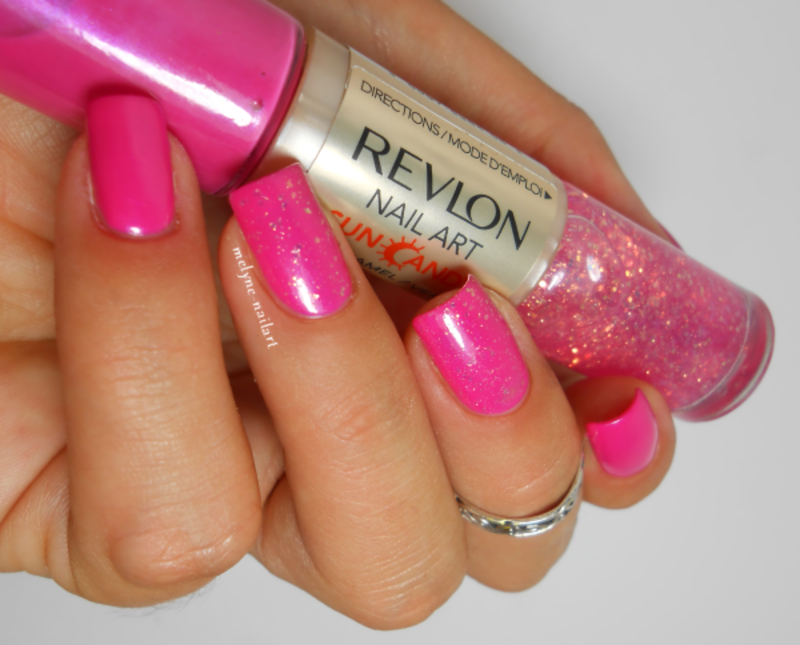 Revlon Shimmering Sunset Swatch by melyne nailart