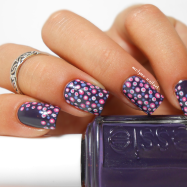 Polka Dot Nails nail art by melyne nailart